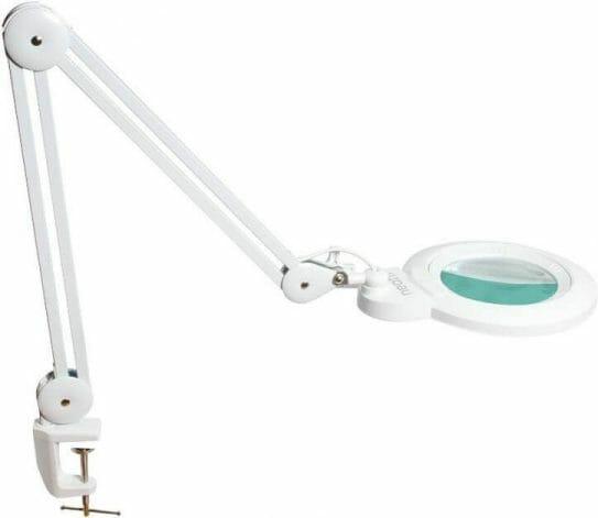 Best Magnifier for Miniatures and Models: Visor or Lamp? - budget magnifier lamp desk light for hobbies
