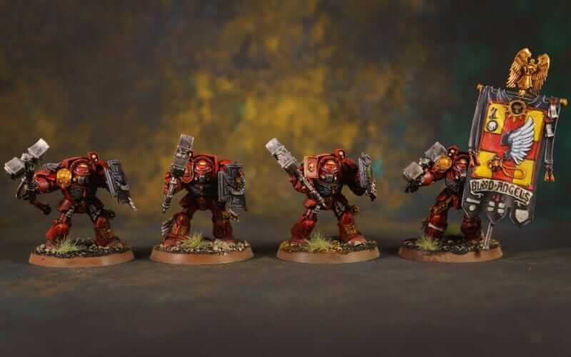 """Angels of Death Warhammer TV Review (Episode 2: """"The Silent City"""") - blood angel space marines - warhammer plus and warhammer TV - painted blood angels"""