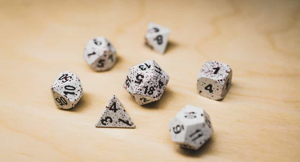 Best Metal Dice Sets? Forged Gaming Dice Sets for DnD and RPGs (Review) - metal dice set review - polyhedral dice set